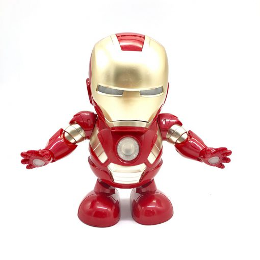 Iron Man Dancing Light Robot Toy