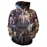 Game of Thrones print Hoodie