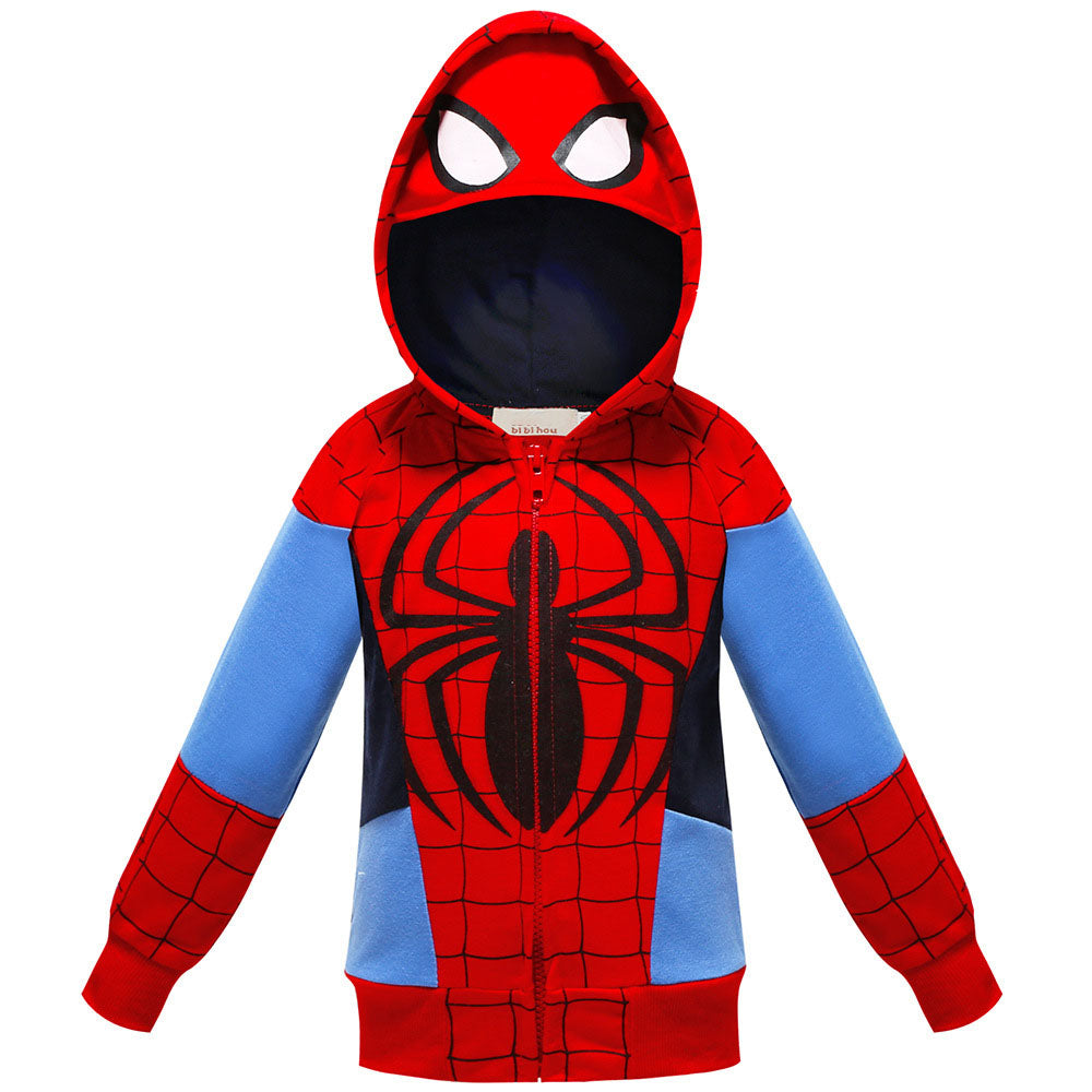 The Avengers Zip-up Hoodie For Kids
