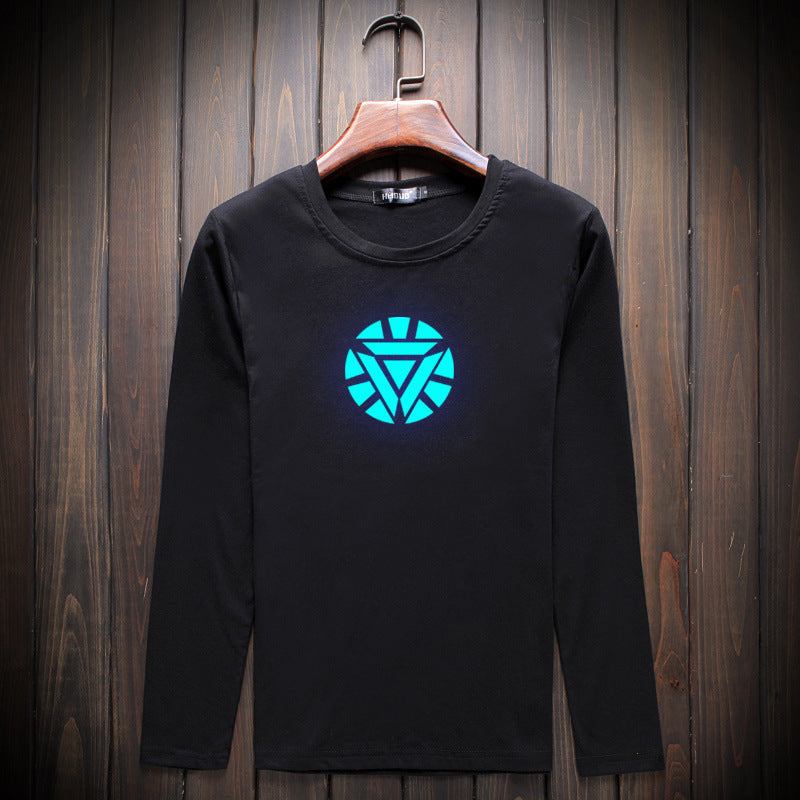 New Iron Man Luminous Long Sleeve T-Shirt