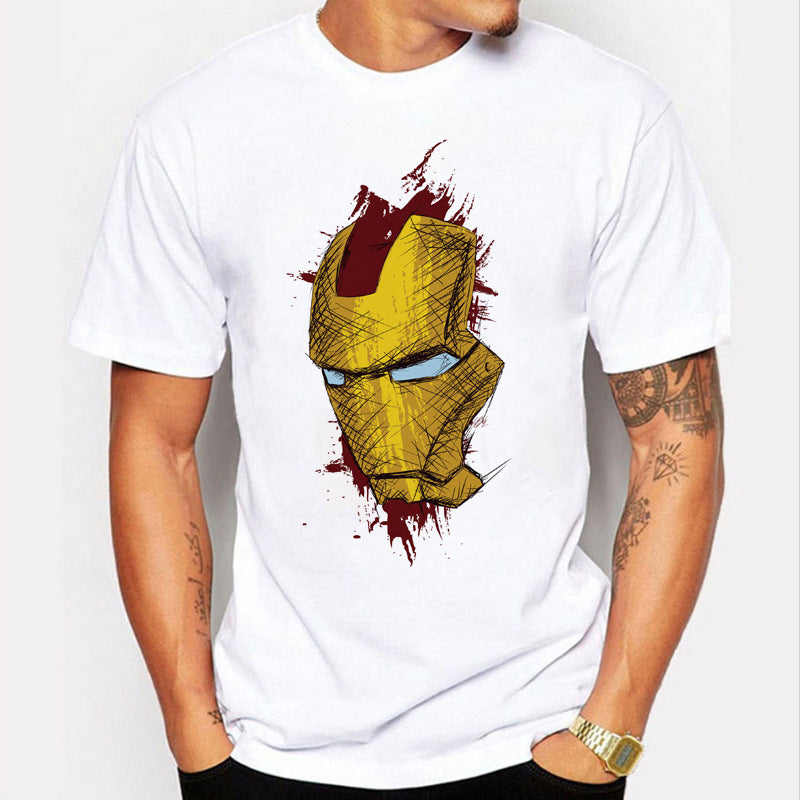 iron Man Printed T-shirt