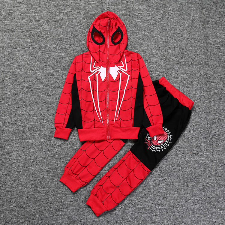 Spider-man Hoodie and Pants Set For kids