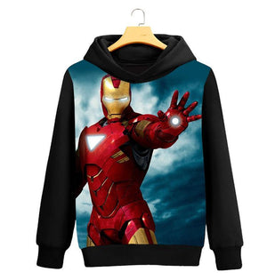 The Avengers Iron Man Printed Hoodie