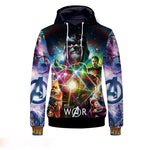 The Avengers3:Infinite War 3D Digital Printing Hoodie
