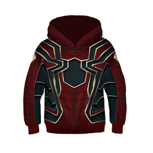 New Spider-Man Hoodie for Kids