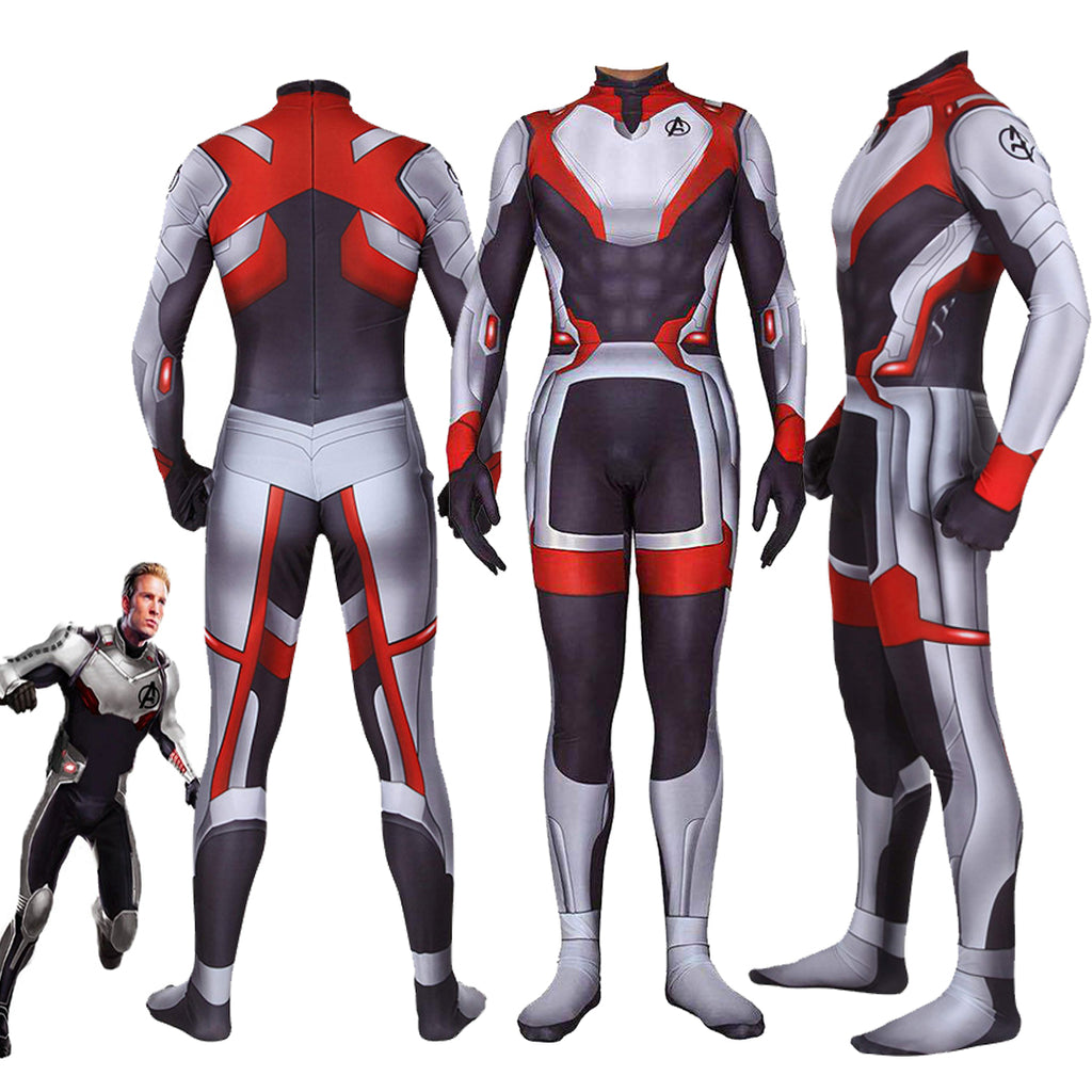 Marvel Avengers 4 Endgame Quantum battle suit cosplay Onesies for Adult and Kids