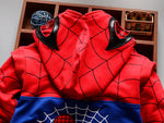 Spider-Man Zip Up Hoodie 3-Piece Set for Kids