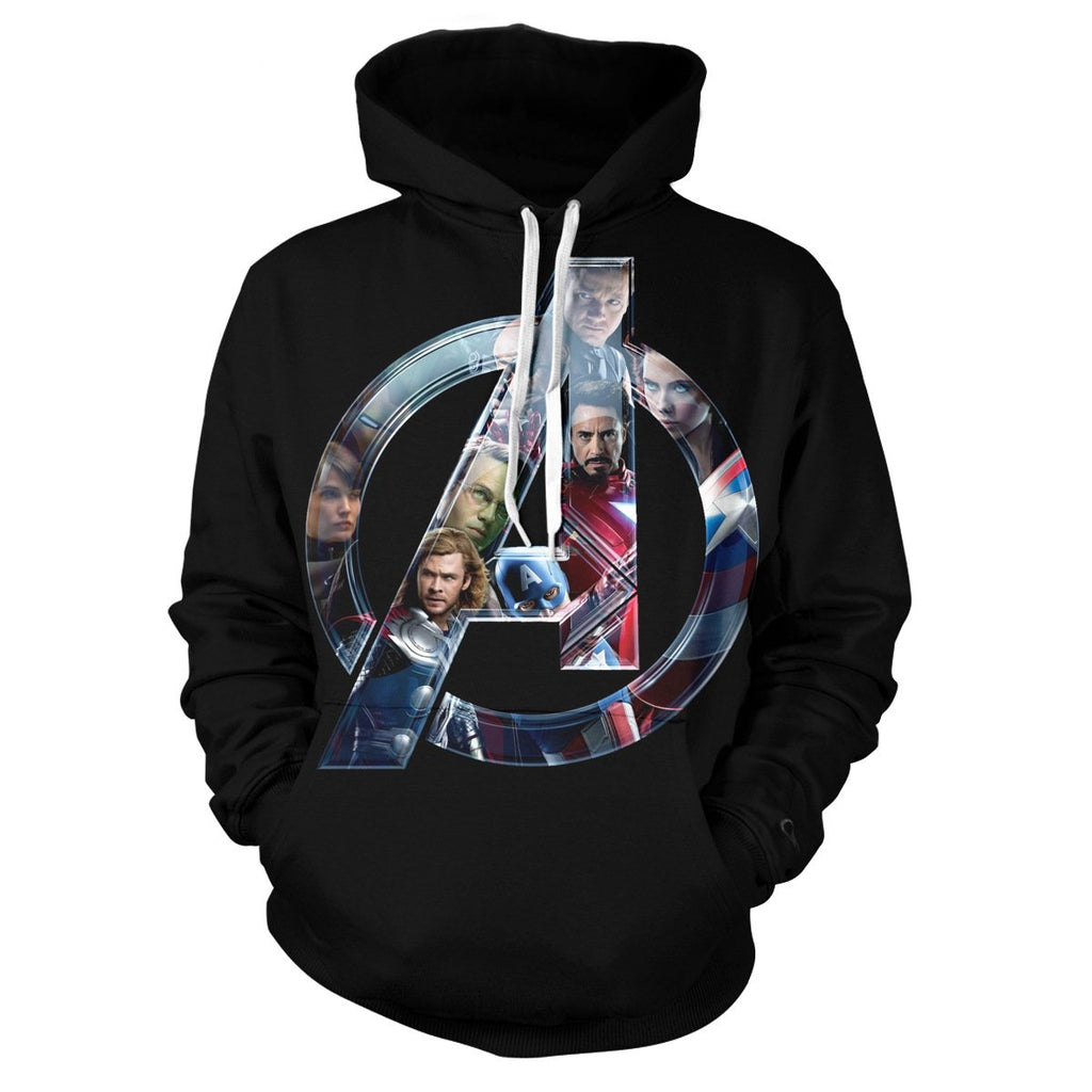 The Avengers3: 3D Digital Printing Hoodie