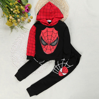 Spider-Man Long Sleeve Pullover and Pants Set for Kids
