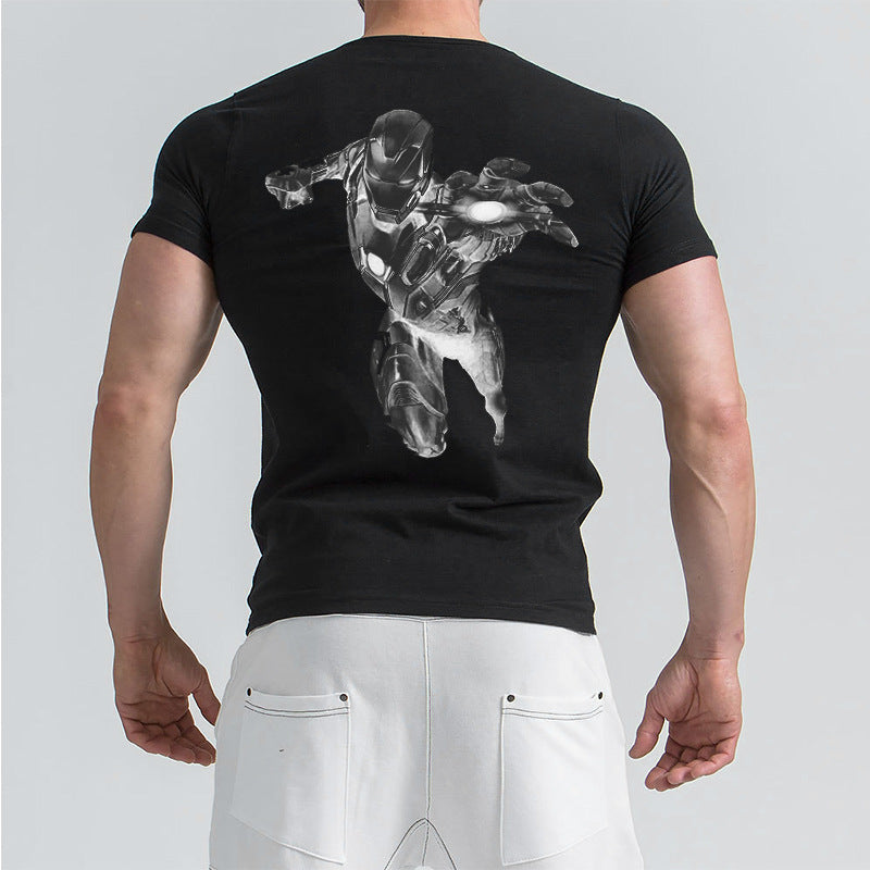 The Avengers Iron Man Printed T-shirt
