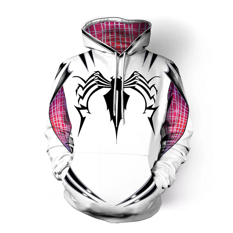 Cool Spider-Man Gwen Stacy Style Hoodie