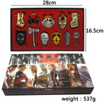 Avengers4 Superhero Exquisite Keychain Set