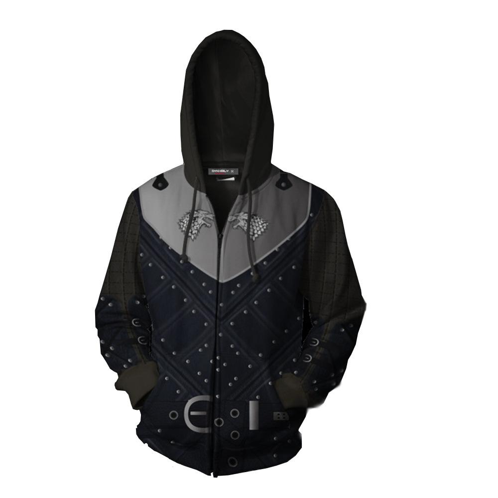 Game of Thrones Jon Snow Printed Hoodie