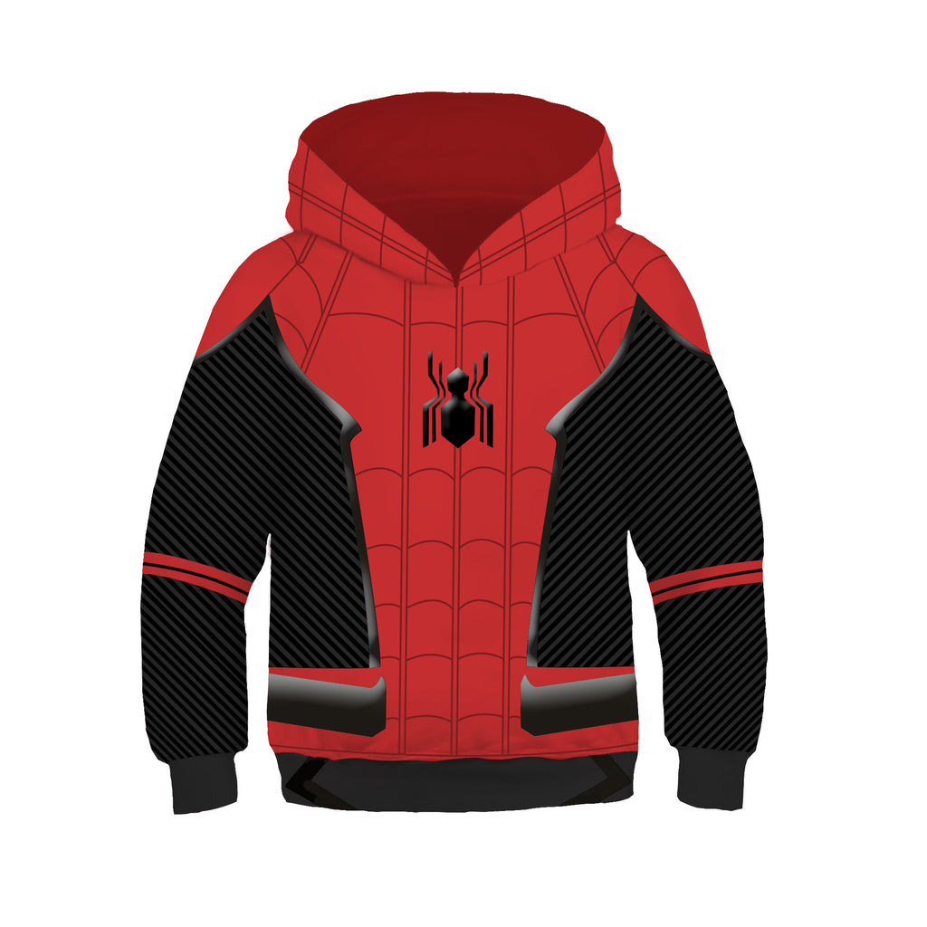 New Spider-Man Pullover for Kids