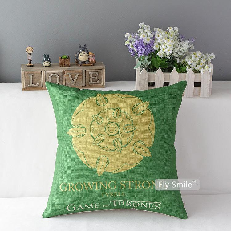 Game of Thrones House Tyrell Hold Pillow