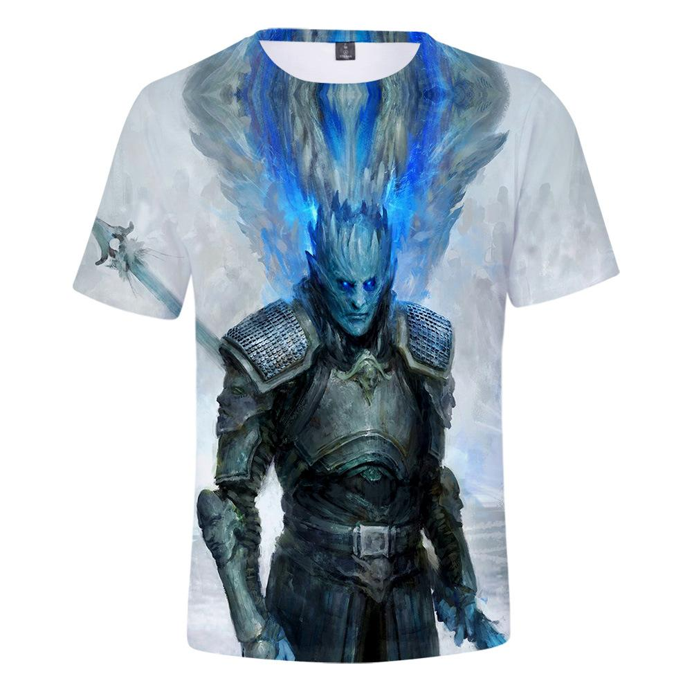 Game of Thrones 3D Printed T-shirt