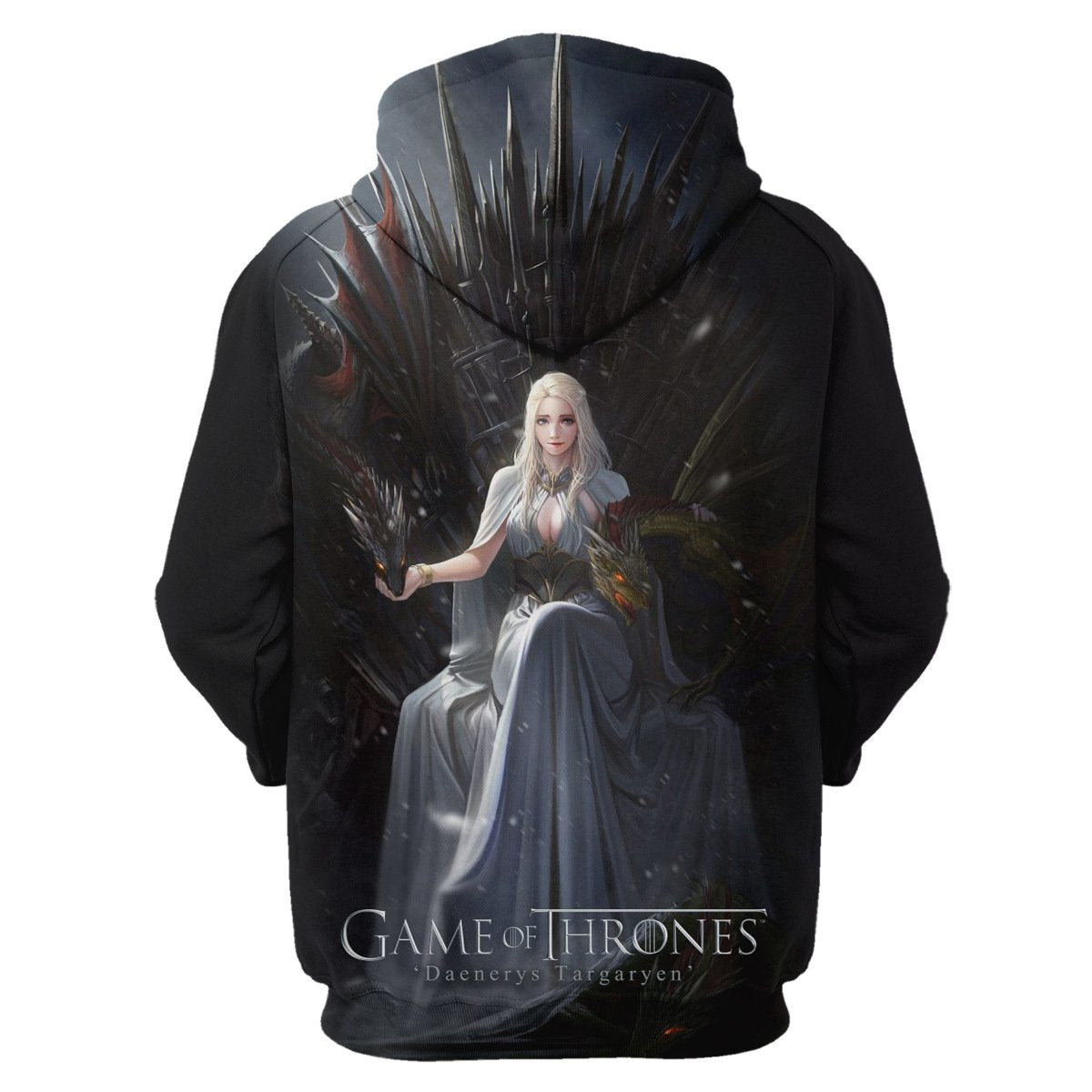 Dragon Mother Daenerys print Hoodie