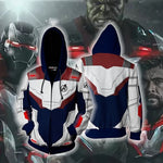 2019 Cool Avengers 4 : Endgame Quantum Battle Suit 3D Printed Hoodie