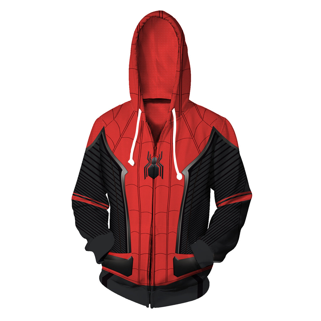 Spider Man Zip Up Hoodie