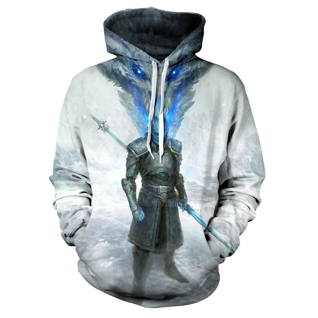 Game of Thrones Night King print Hoodie