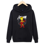 The Avengers:Cotton Iron Man Anime Printed Hoodies