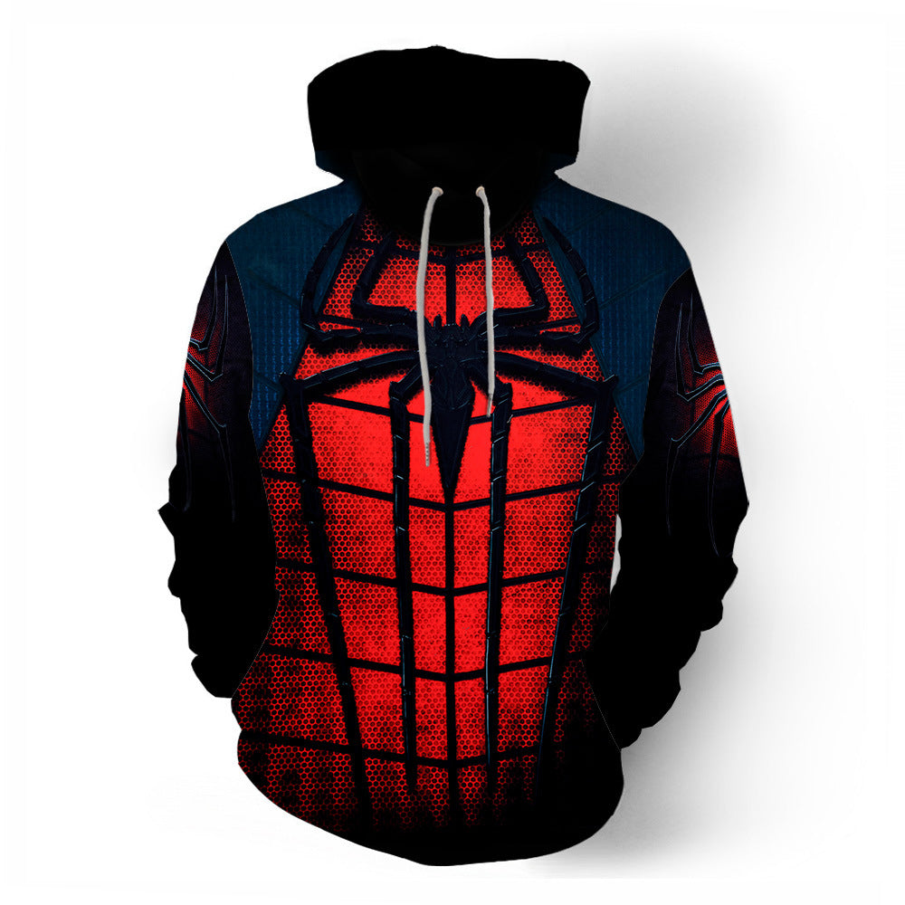 Cool Spider-Man 3D Printed Long Sleeve Hoodies