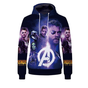 Infinite War 3D Digital Printing Hoodie
