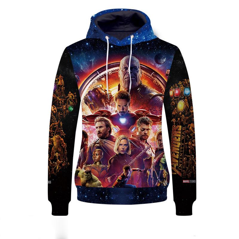 The Avengers:New 3D Digital Printing Hoodie