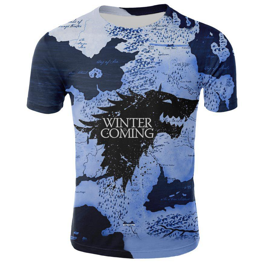 Game of Thrones Winter is Coming Printed T-shirt