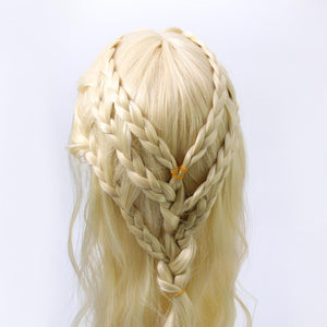 Mother of Dragons Daenerys Targaryen Cosplay Wig Synthetic Hair
