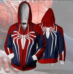 Marve Ultimate Spider-Man 3D Printed Zip Up Hoodie