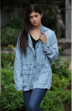 Long Sleeve Button Up Jacket
