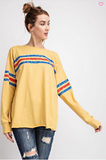 Silk Screen Front Tunic