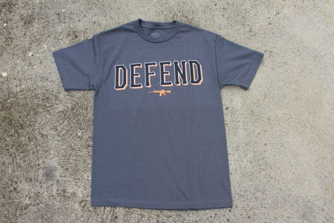 DEFEND ! BASIC  CHARCOAL ORG/WHT/BLK