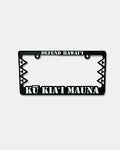 Kū Kia'i License Plate Frame BLACK