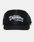 DEFENDERS SCRIPT YOUTH FOAM TRUCKER MESH BACK CAP BLK/WHT