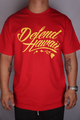 DH ! WILDSTYLE LOGO  RED/YELLOW