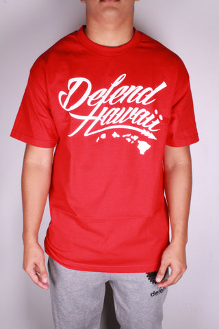 DH ! WILDSTYLE LOGO  RED/WHT