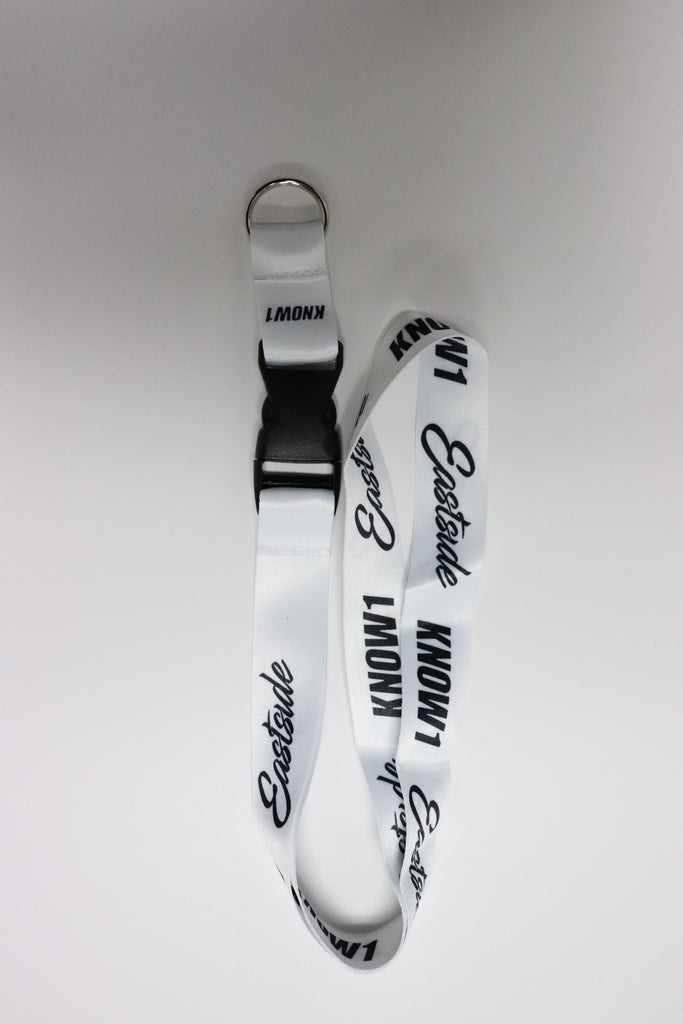 K1 ! EASTSIDE LANYARD  WHITE