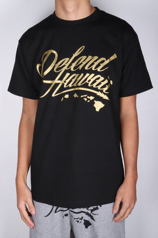 DH ! WILDSTYLE LOGO  BLACK/GOLD
