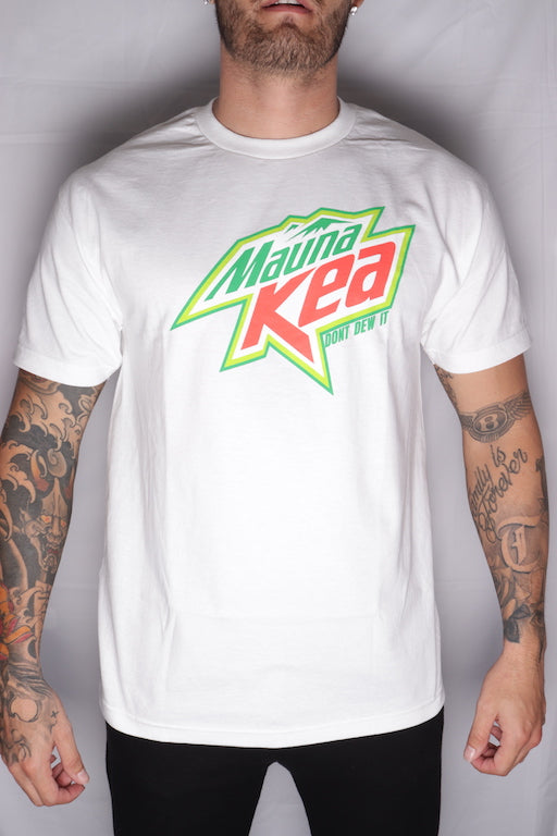 DH ! MAUKA DEW  WHITE GRN/RED/WHT