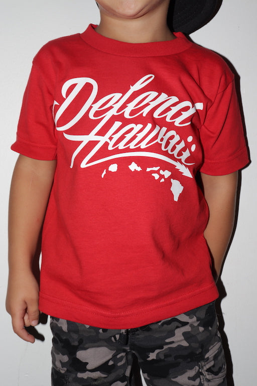 DH ! WILDSTYLE LOGO KIDS  RED/BLK