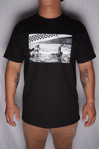 DH ! OG LAWAI'A  BLACK 4-COLOR/WHT