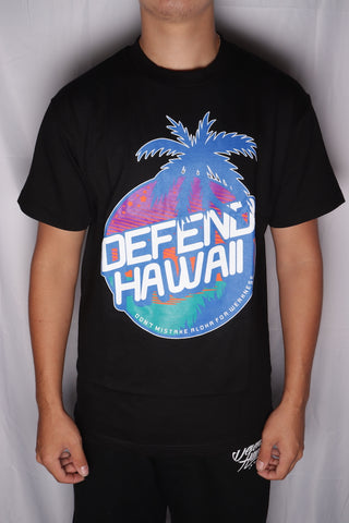 DH ! SUNSET CIRCLE  BLACK NVY/PRP/ORG/TEAL/WHT