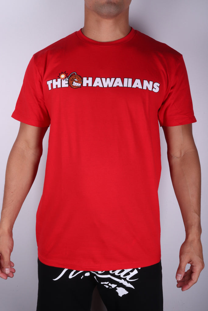 DH ! THE HAWAIIANS  RED WHT/BLK/BRWN/RED
