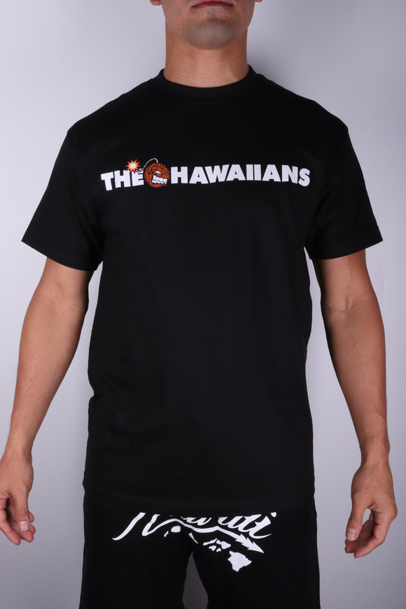 DH ! THE HAWAIIANS  BLACK WHT/BLK/BRWN/RED