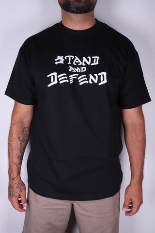 DH ! STAND & DEFEND  BLK/WHT