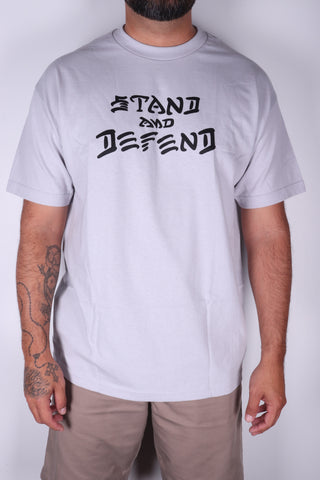 DH ! STAND & DEFEND  SLVR/BLK