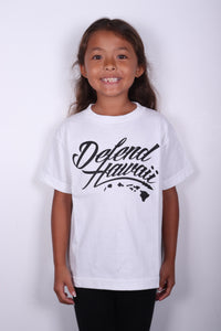 DH ! WILDSTYLE LOGO KIDS  WHITE/BLACK