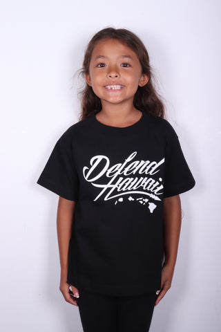 DH ! WILDSTYLE LOGO KIDS  BLACK/WHITE